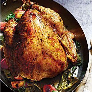 Apple-Poblano Whole Roast Turkey