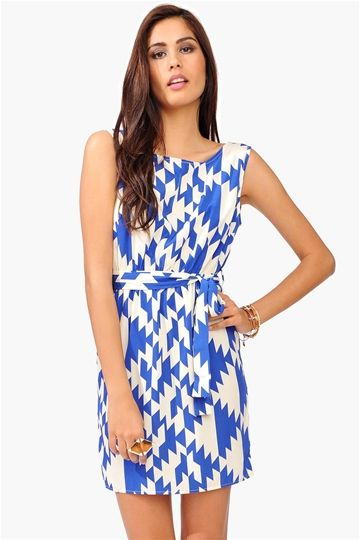 Necessary Clothing Dream On Dress - Blue