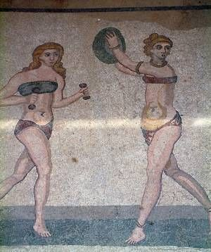Roman Women Exercising