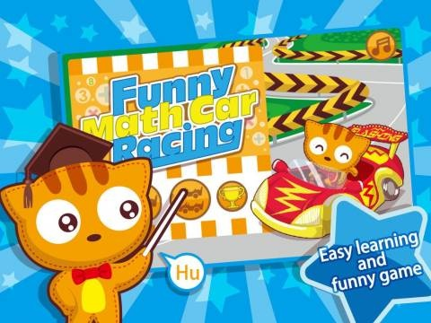 FREE for limited time: Funny Math Car Racing [iPad, iPhone]. All Top 100 Free Apps for Kids updated daily: www.appysmarts.co...