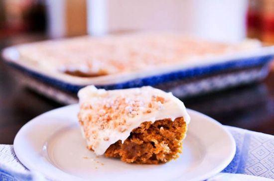 This pumpkin cake with cream cheese frosting is one recipe that you just have to make - and soon! Every year, I like to make this pumpkin cake sometime around the first week or two of Fall. With just one bite, I'm immediately in the mood to put away all of my summer clothes and decor and