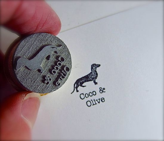 Personalized Dog Pet Stamp