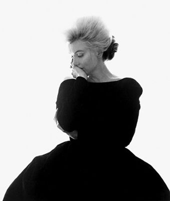 miss monroe    photographed by Bert Stern
