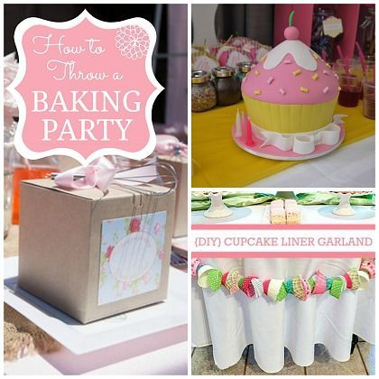 How to Throw an Amazing Baking themed Party