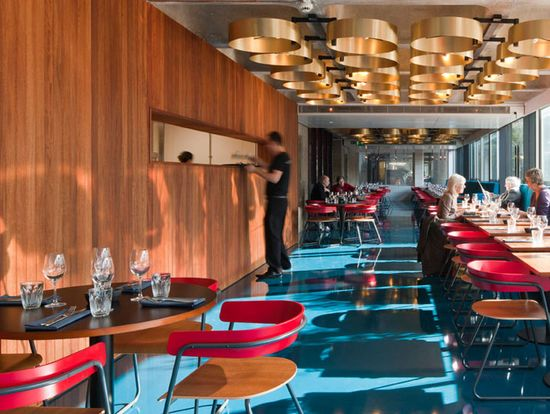 SHH lead all-star cast in design of Barbican Foodhall and Lounge