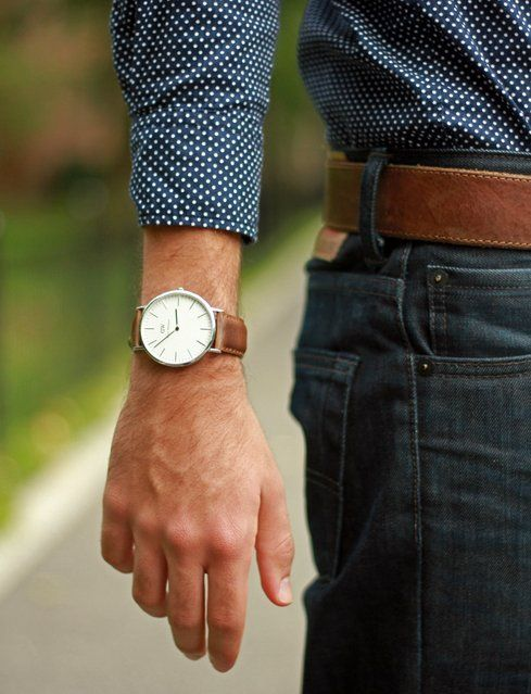 Classic Cardiff Watch by Daniel Wellington