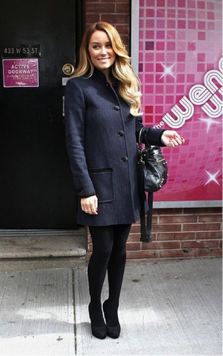 Lauren Conrad: Cold Weather Outfit
