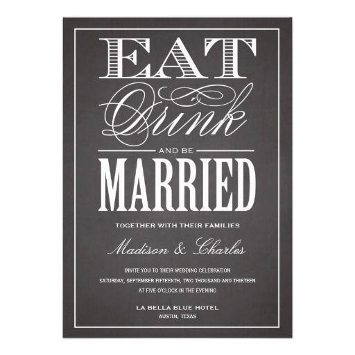 BE MARRIED CHALKBOARD