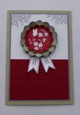 handmade card ... like the design ...