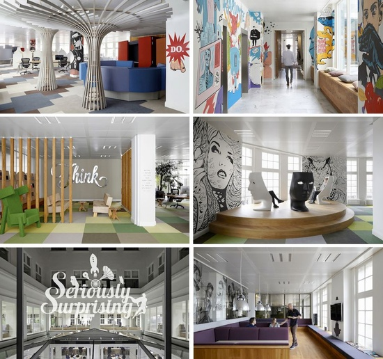 JWT Amsterdam Office Design