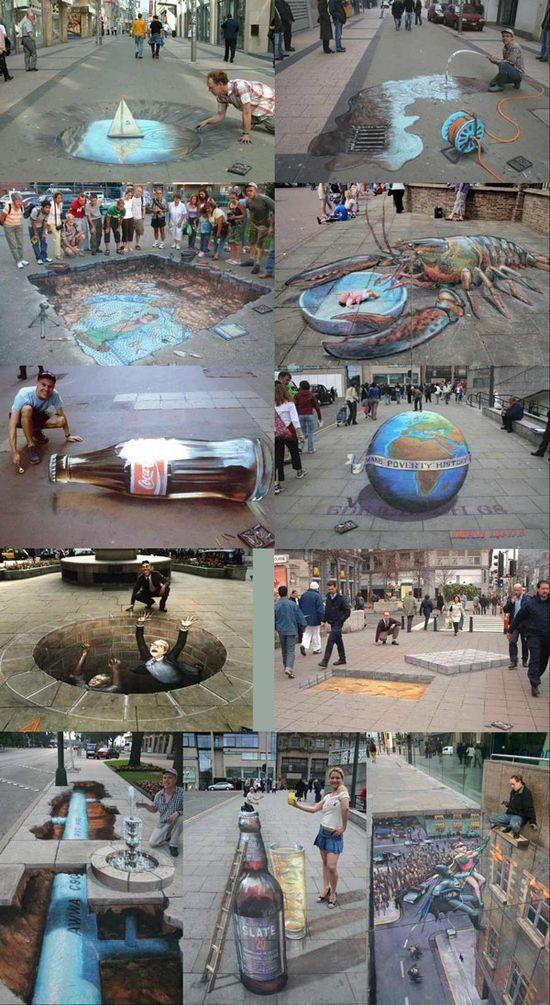 All street 3D Arts