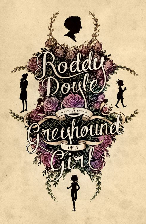 'A Greyhound of a Girl' Book cover by Monaux