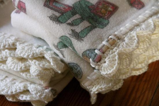 Crochet. Baby Blanket.
