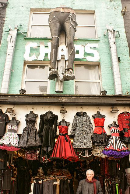 Chaos, Camden, London. Our tips for things to do in London: www.europealacart...