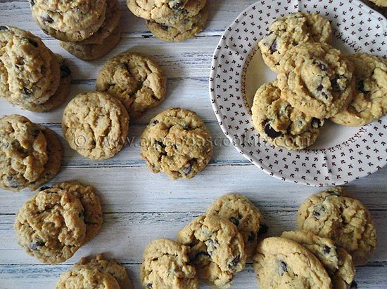 Peanut Butter Oatmeal Chocolate Chip Cookies (very good)