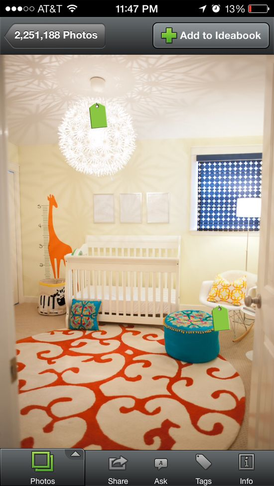 Love this baby boys room