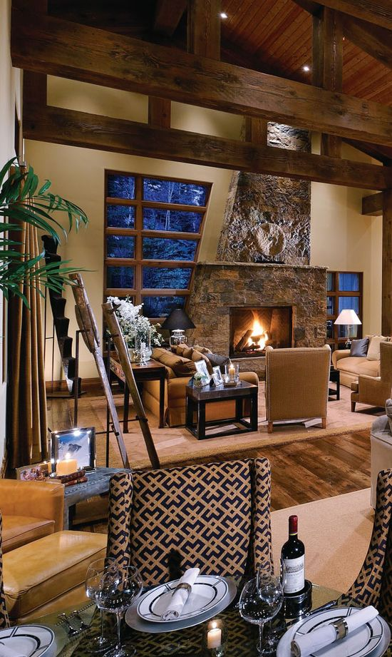 Rustic Home Decor Great Room
