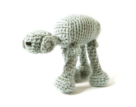 AT-AT crochet pattern