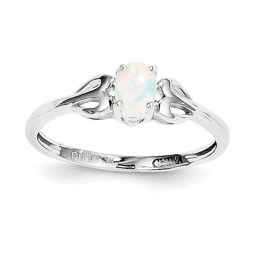 I originally wanted this for my wedding/engagement ring, but opals are too soft. :(
