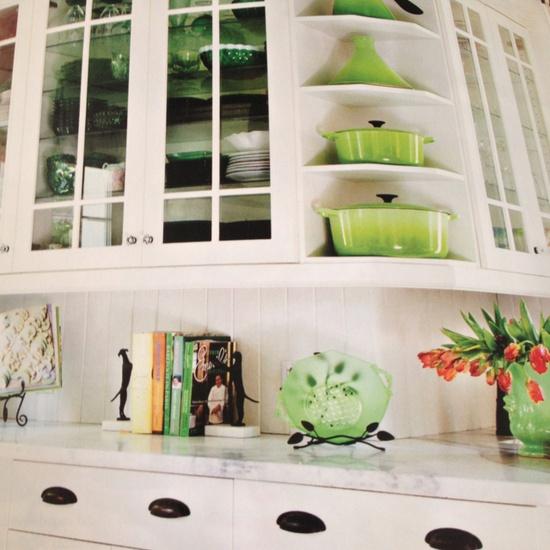 Kitchen citrine green collection
