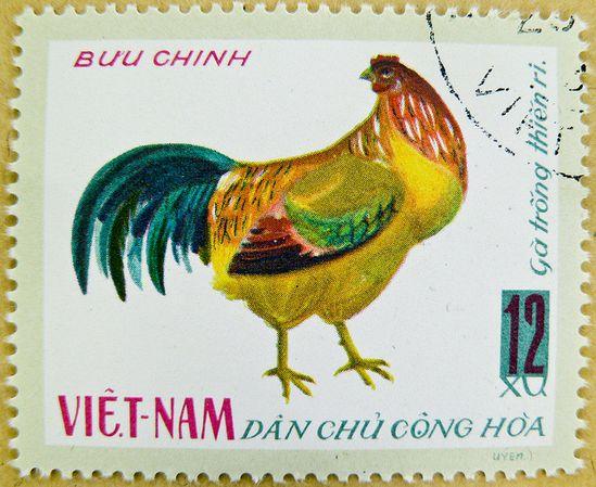 stamp Vietnam
