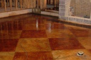 Stained concrete floor by #floor designs #floor decorating before and after #modern floor design #floor