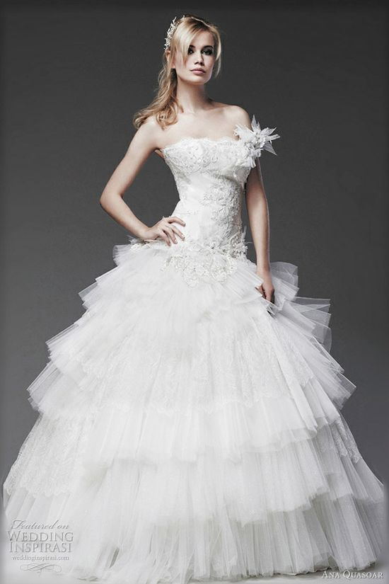 ana quasoar wedding dresses 2012