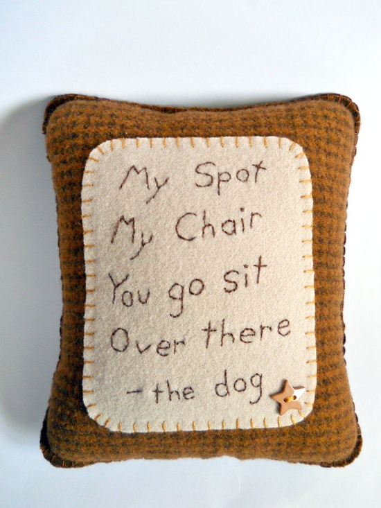Dog Pillow - Lucy needs this!