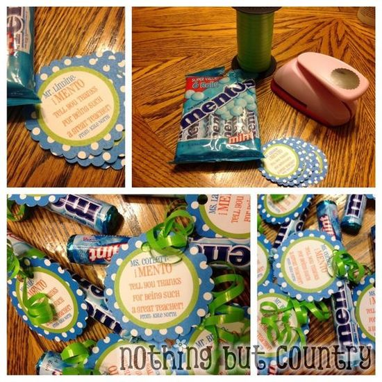 Teacher Appreciation Week - 5 different DIY gifts