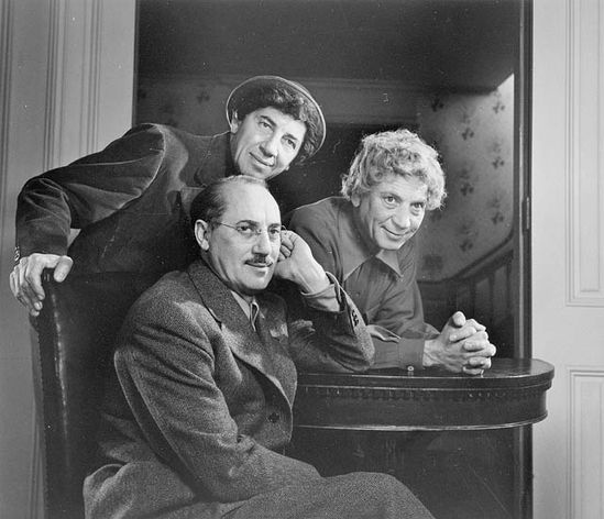 The Marx Brothers 1948. Photo by Karsh