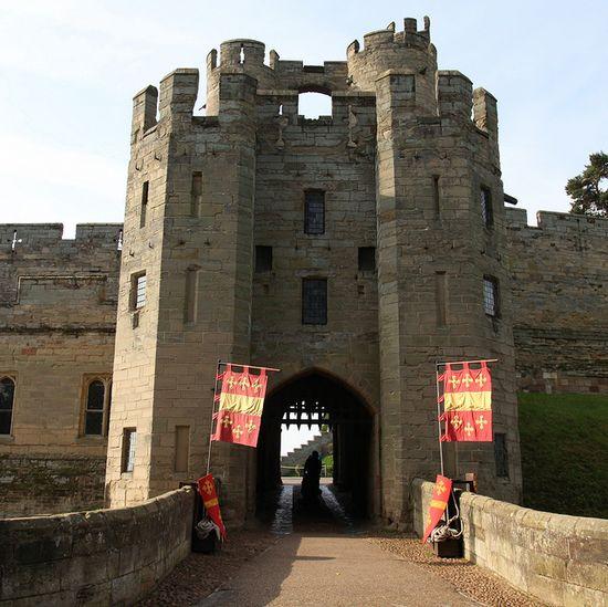 Warwick Castle - Entrance Gate