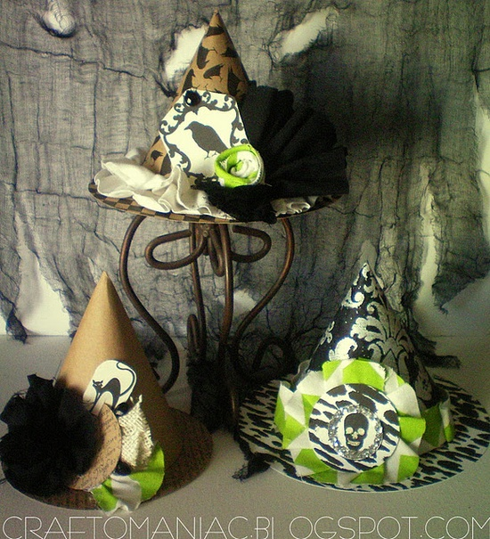 Paper Witches Hats
