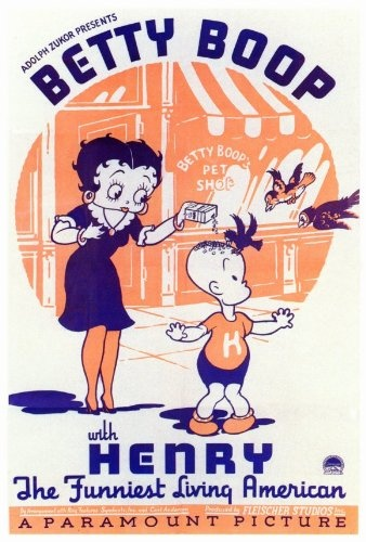 $16.95 Betty Boop with Henry Movie Poster (27 x 40 Inches - 69cm x 102cm) (1935) -(Mae Questel)  From MG Poster   Get it here: astore.amazon.com...