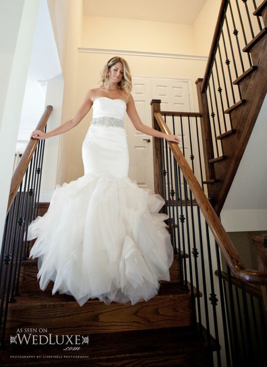 Stunning!  Vera Wang gown