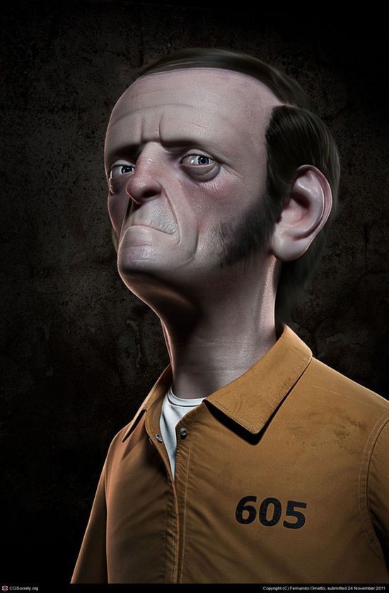 Amazing 3D Character Designs for your inspiration: Costeleta Prisoner