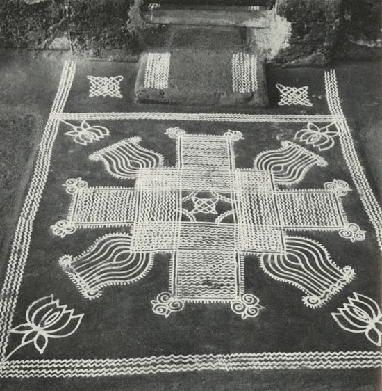 Floor Decoration in India