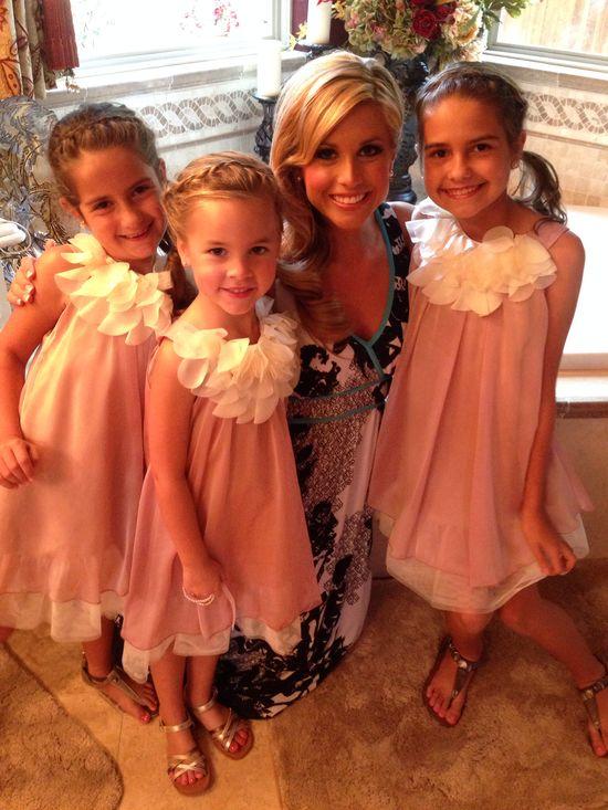 Beautiful flower girls!