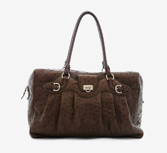 Salvatore Ferragamo Brown Handbag