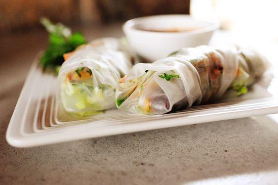 turkey spring rolls