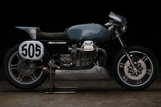 My favorite motorcycle of the moment // Revival Cycles Moto Guzzi Le Mans 1 Racer