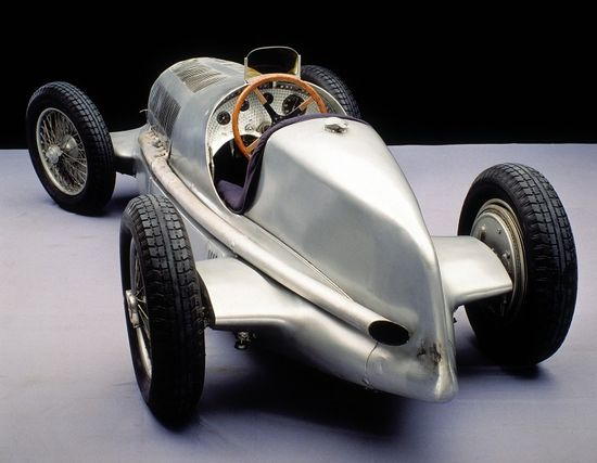 The 1937 Mercedes Ben Silver Arrow W 125