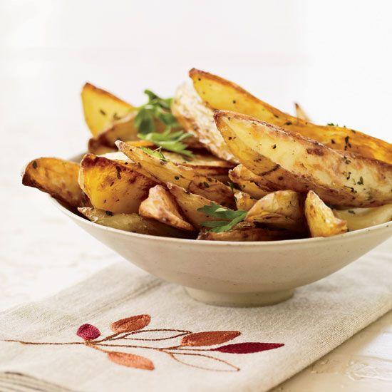 Oven Fries with Roasted Garlic // More Tasty Fries: www.foodandwine.c... #foodandwine