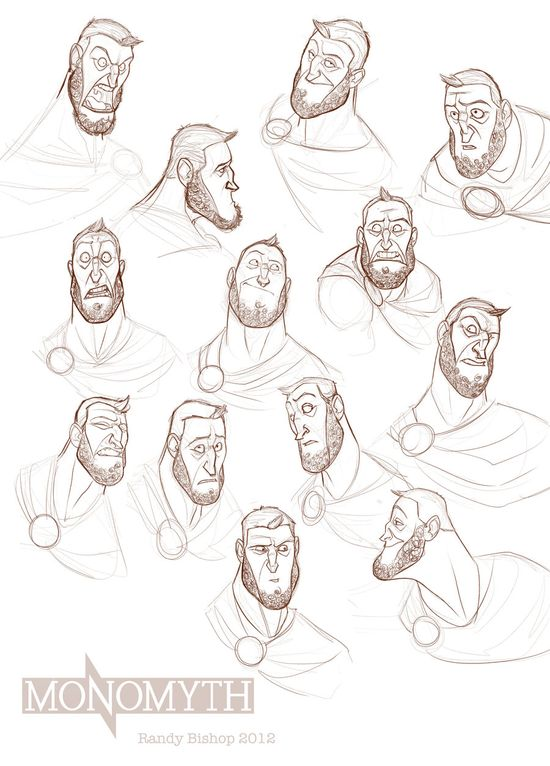 Expression sheet by randybishopart