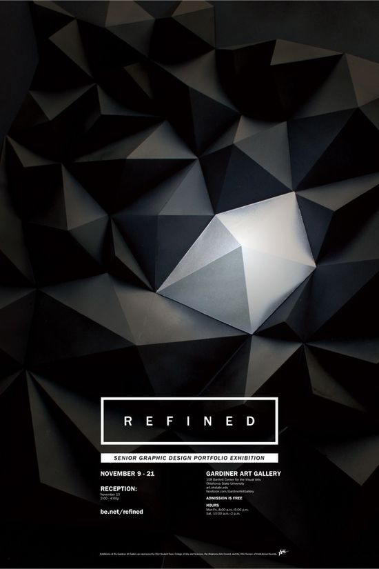 Refined, Graphic Design Exhibition _