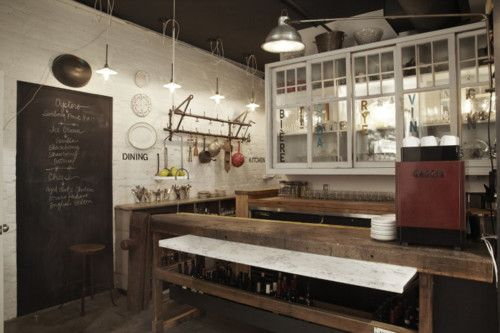Industrial style kitchen...