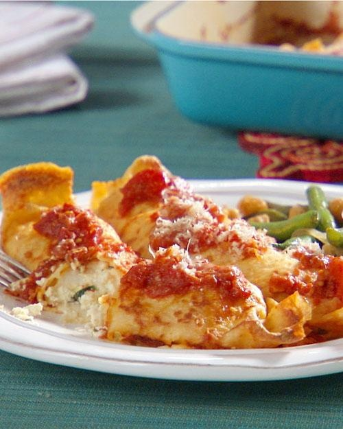 Cannelloni Crepes Recipe