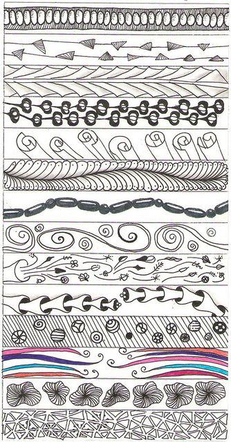 pattern borders