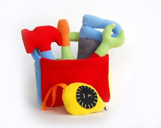 Tool Box Soft Plush Felt Toy