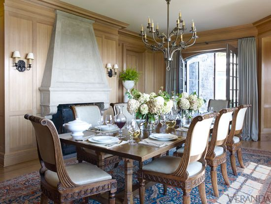Watch Hill, Rhode Island home. Interior Design by Michael S. Smith.