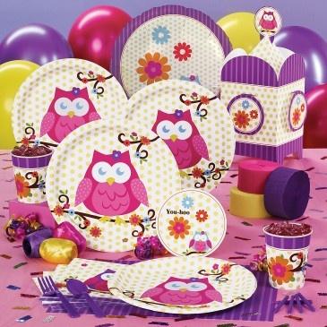 Owl Birthday PArty!! :)